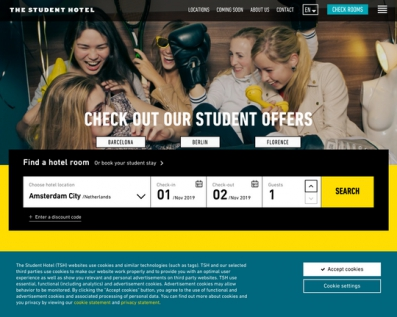 Thestudenthotel.com