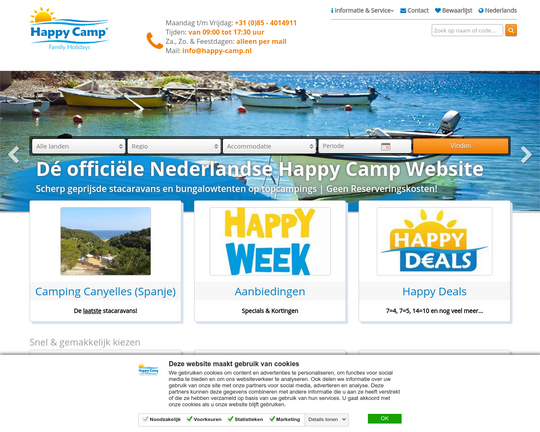 Happycamp.nl