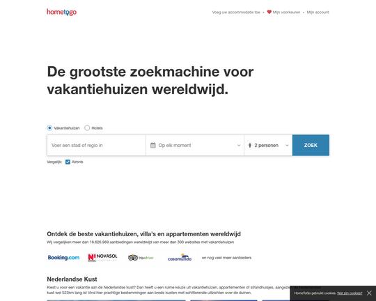 Hometogo.nl - 1 Reviews - Vakantiesitesvergelijken.com